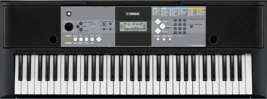 Piano lessons Derby review Yamaha PSRE233 Portable Keyboard