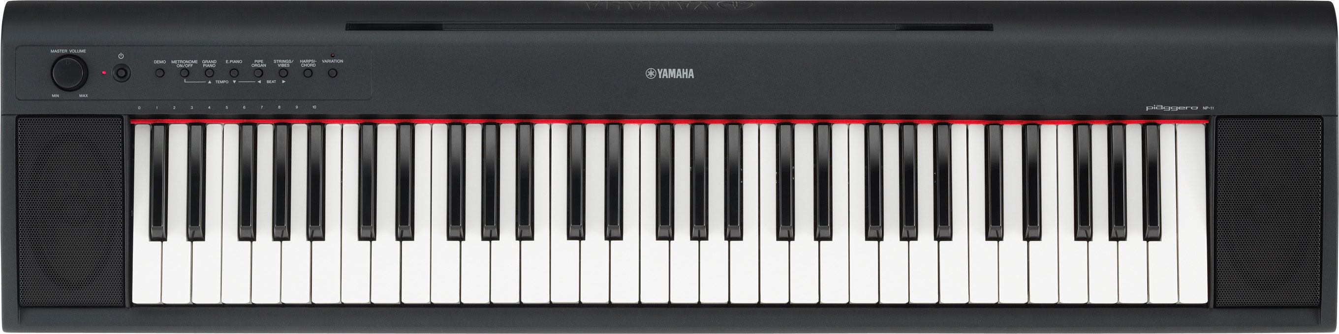 Yamaha NP11 Piaggero Series Keyboard for Piano Lessons