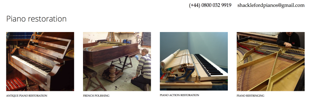 Piano Restoration Derby. Piano renovation and restoration by experts.