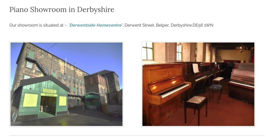 Piano Showrooms Derby - Quality used upright Pianos