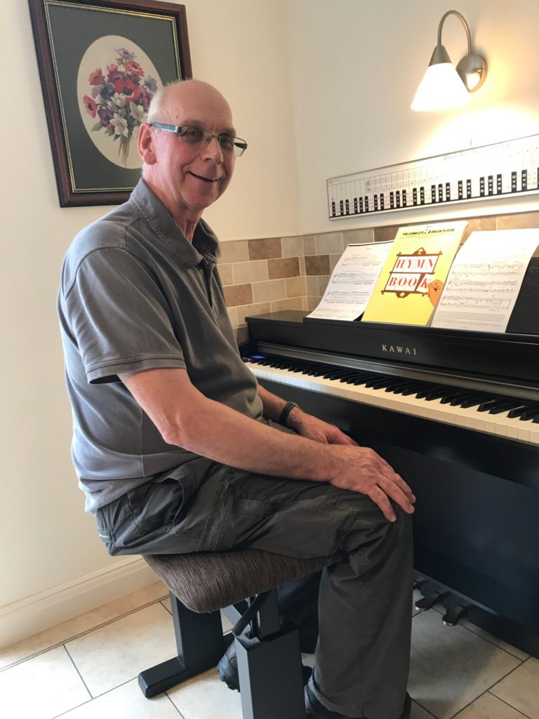 Private Piano lessons in Derby for semi-retired and senior citizens